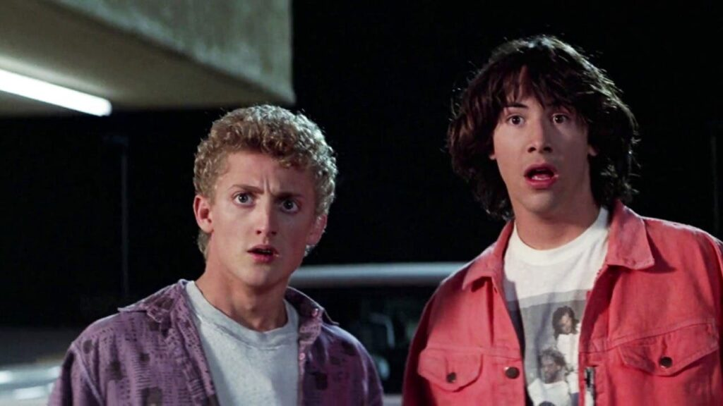 keanu reeves y Alex winter